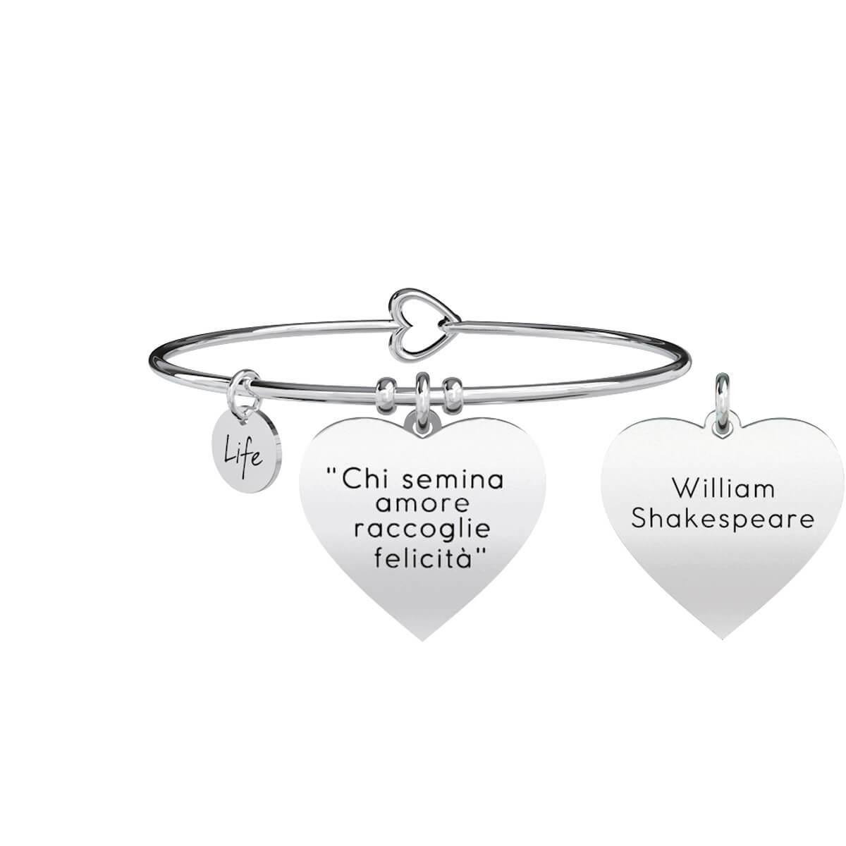 Kidult Bracciale Donna Collezione Love Ama Follemente Shakespeare 731057
