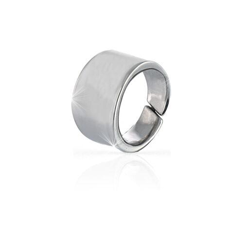 Anello in argento fascia larga UNOAERRE