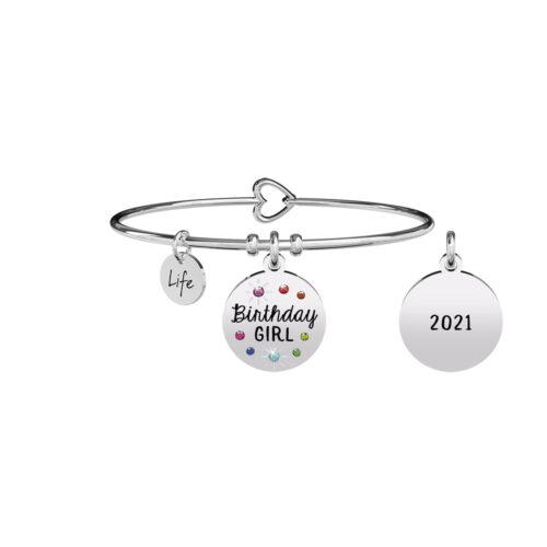 Bracciale kidult Birthday Girl Kidult Special Moments