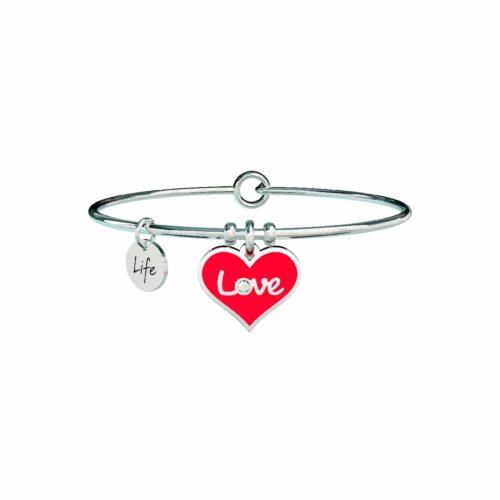 Bracciale Kidult Cuore Rosso Love 731608