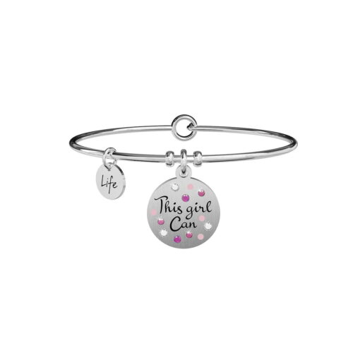 Bracciale kidult Philosophy This Girl Can