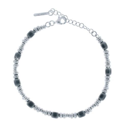 Bracciale UNOAERRE in argento bicolore
