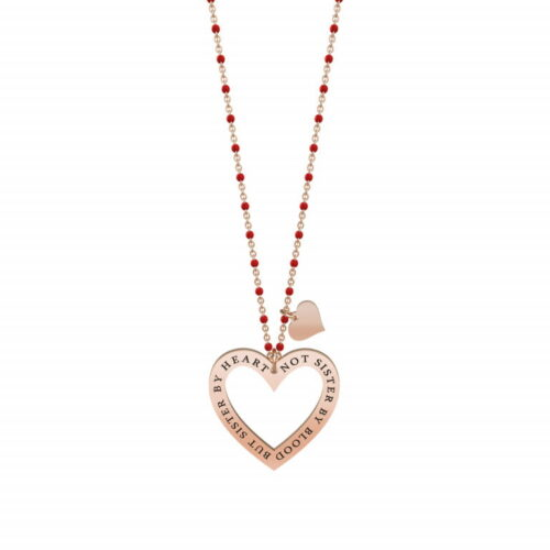 collana kidult not sister by blood cuore