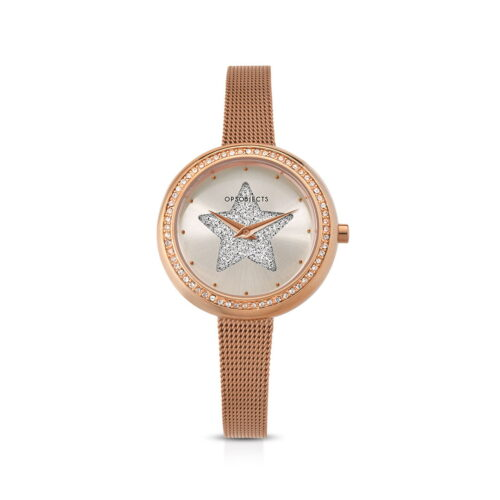 Orologio Ops Objects Rosé Stella