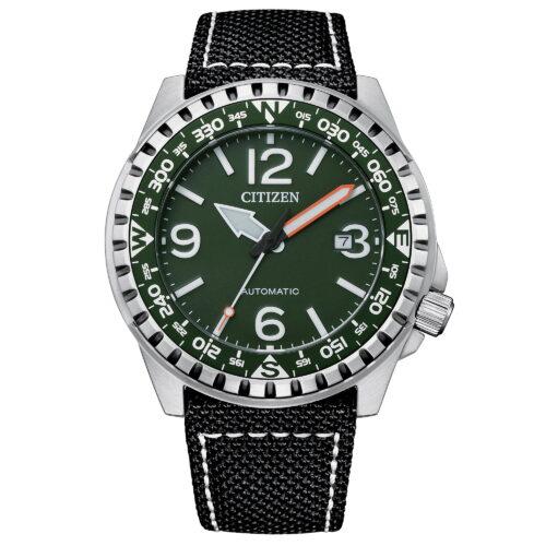 Orologio Automatico Uomo Quadrante Verde