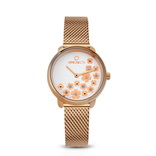 Orologio OPS Objects Bold Flower Crystal OPSPW-592