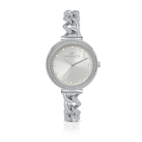 Orologio Ops Objects Groumette Argento