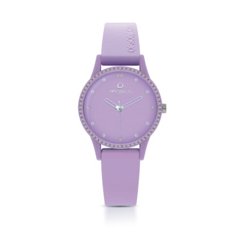 Orologio Ops Object Viola Silicone