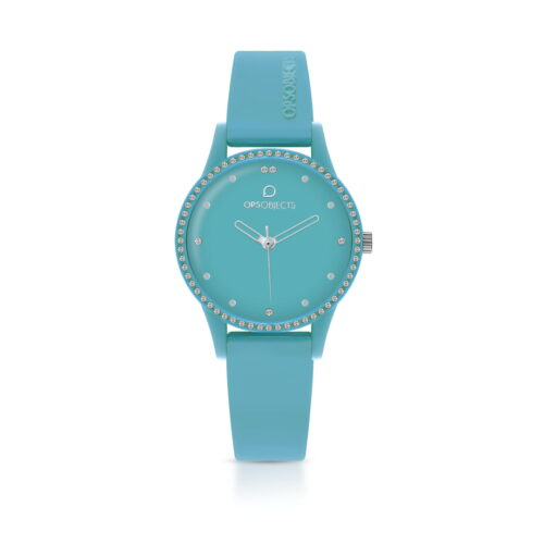 Orologio Turchese Ops Object Silicone
