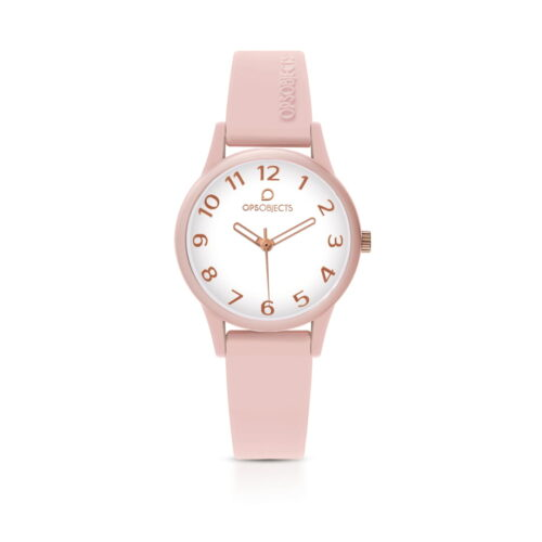 Orologio Ops Object Rosa Silicone