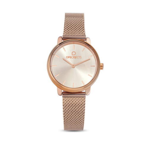 Orologio Ops Objects Rosato Champagne
