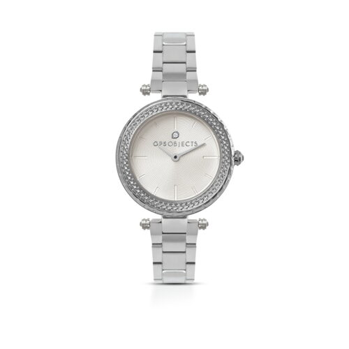 Orologio Ops Objects Princess Argentato
